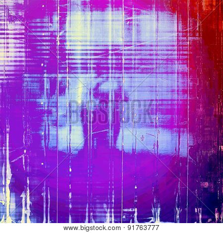 Art grunge vintage textured background. With different color patterns: red (orange); blue; purple (violet); pink