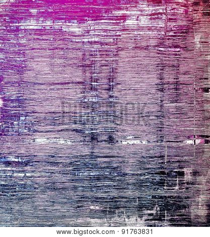 Old antique texture (for background). With different color patterns: gray; blue; purple (violet); pink