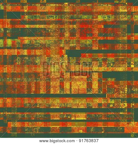 Ancient grunge background texture. With different color patterns: yellow (beige); brown; red (orange); green