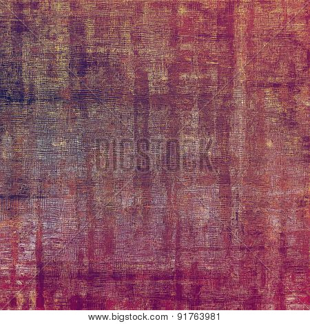 Retro background with grunge texture. With different color patterns: brown; gray; purple (violet); pink