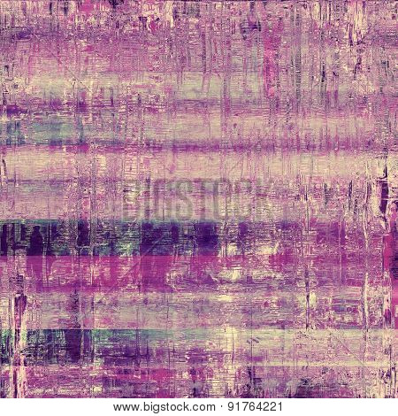 Old antique texture or background. With different color patterns: gray; blue; purple (violet); pink