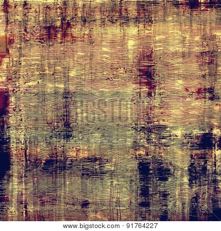 Grunge, vintage old background. With different color patterns: yellow (beige); brown; gray; purple (violet)