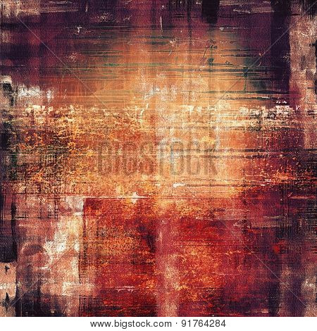 Old Texture or Background. With different color patterns: yellow (beige); brown; red (orange); purple (violet)