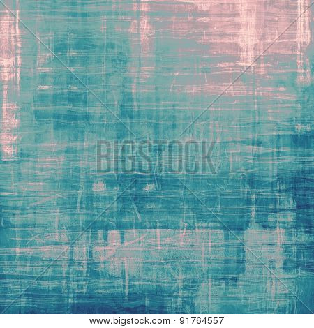 Rough grunge texture. With different color patterns: gray; blue; cyan; pink