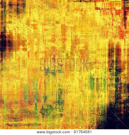 Vintage texture ideal for retro backgrounds. With different color patterns: yellow (beige); red (orange); black; green