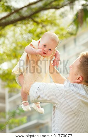 Tossing A Baby