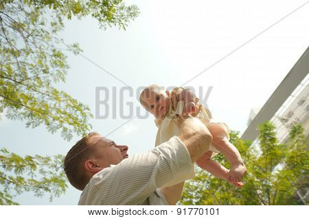 Tossing A Kid