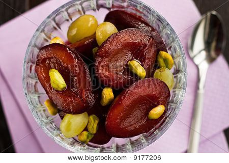 Plums In Wine