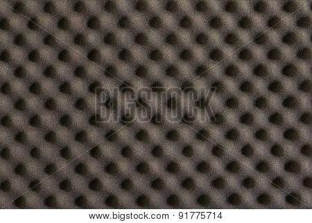 Background And Texture Of Black Sponge   Cushioning