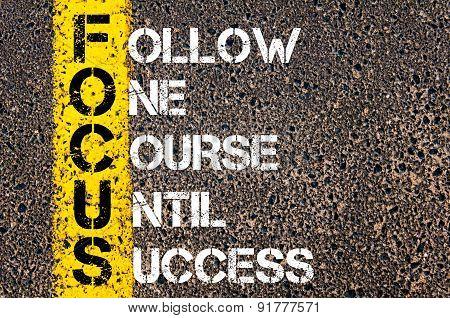 Business Acronym Focus