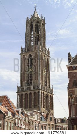 Dom Cathedral In Utrecht