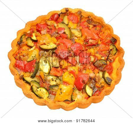 Baked vegetable Flan