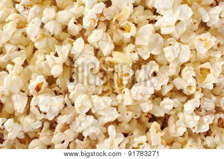 Popcorn. Macro.