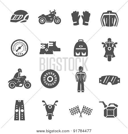 Rider Icons Set
