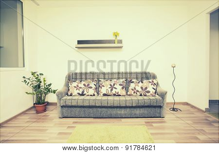 Cozy living room interior