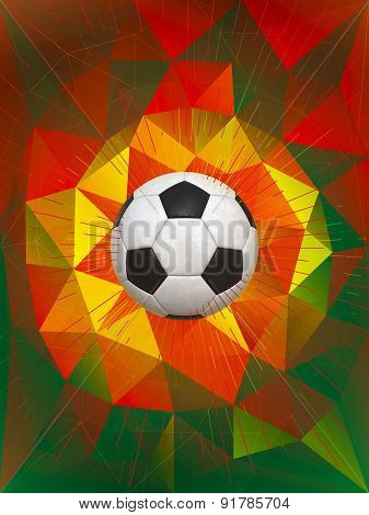 Portugal Soccer Ball Background