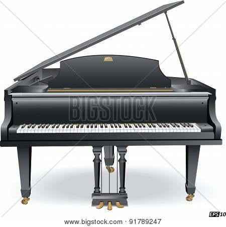 Piano - Illustration