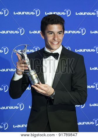 Marc Marquez at Laureus Awards