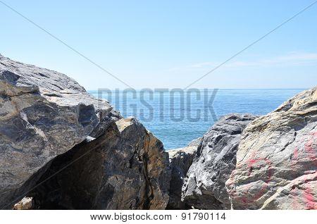 View at the sea