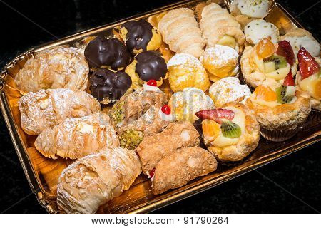 Pastries Colorful
