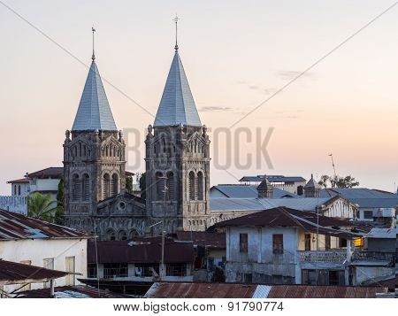 St. Joseph church in Stone Town, Zanzibar