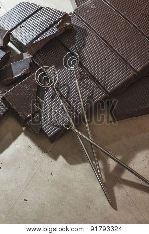 Tools For Making Chocolates