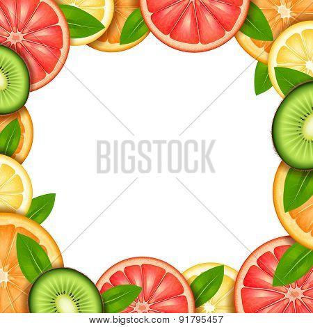 Fruit Frame Illustration