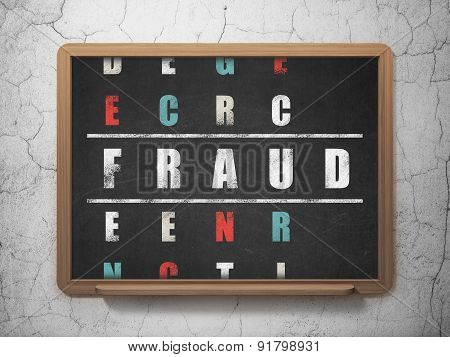 Protection concept: word Fraud in solving Crossword Puzzle