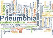 picture of pneumonia  - Background concept wordcloud illustration of pneumonia - JPG