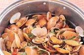 picture of clam  - Fried shell in curry sauce  - JPG