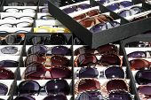 picture of protective eyewear  - Many sun glasses - JPG