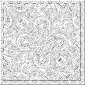 pic of uniqueness  - unique coloring book square page for adults  - JPG