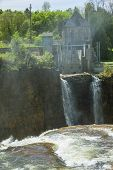 picture of hydro  - A view of the Rainbow hydro - JPG