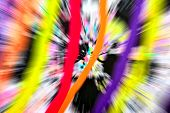 foto of starburst  - Abstract multicolored background - JPG