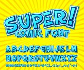 image of  art  - Creative high detail comic font - JPG