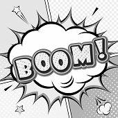 image of pop up book  - Boom - JPG