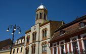 stock photo of nicholas  - Saint Nicholas church against the blue sky - JPG