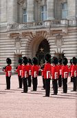 Guard change in Buckingham Palace