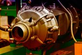 picture of lube  - Part of an engine exhibiting on a fair show - JPG