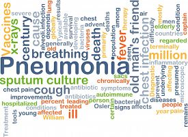 pic of pneumonia  - Background concept wordcloud illustration of pneumonia - JPG