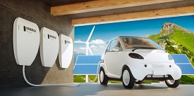 picture of solar battery  - Energy independence  - JPG