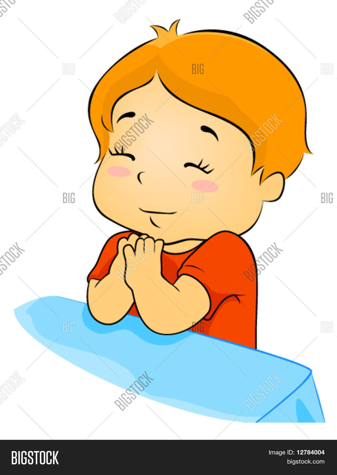 child praying vector vector   photo bigstock praying boy angel clipart boy praying clipart black and white