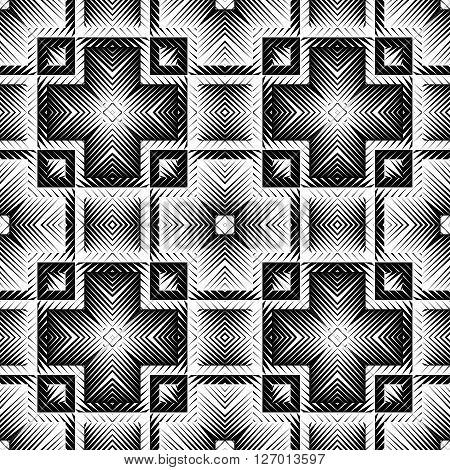 Design Seamless Square Pattern
