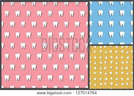dental tooth pattern, seamless pattern,  dental pattern, tooth pattern, dentist pattern, medical pattern, dental background, tooth background, medical background, tooth seamless pattern, tooth care