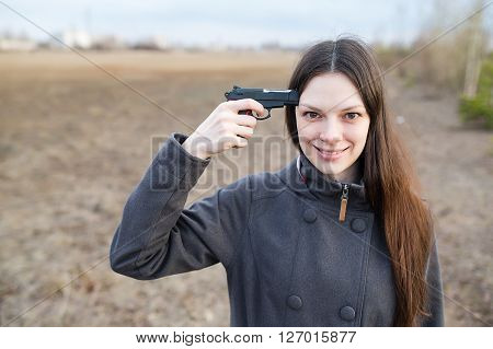 Woman Want To Commit Suicide