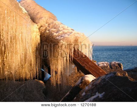 Icicles And Driftwood