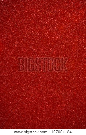 shiny particles red background