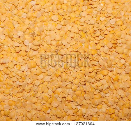 Top View Of Lentil Corns, Grain Background