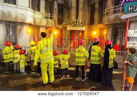 Kidzania In Dubai Mall