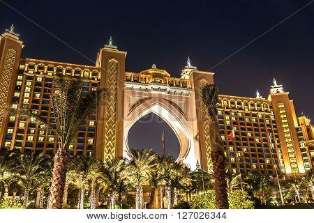 Atlantis, The Palm Hotel In Dubai,